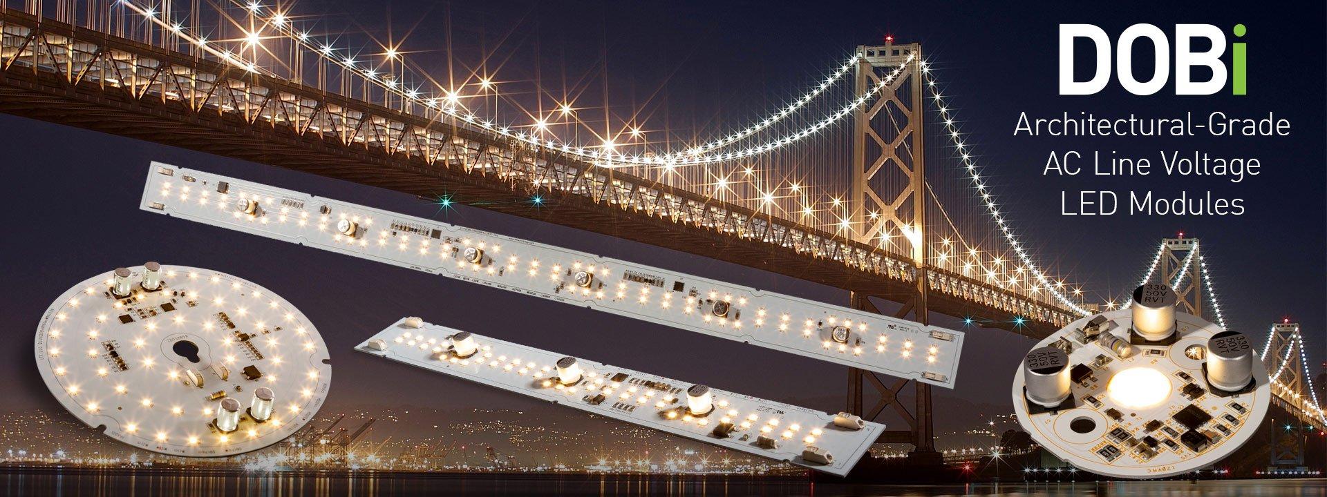 LTF's DOBi Architectural Grade AC Line Voltage LED Modules
