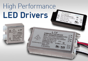 DS DA DE DU Series High Performance LED Drivers ELV Triac 0-10V Dimmable