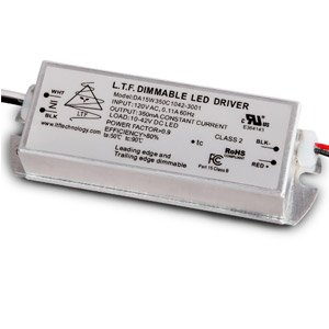 DA15W-T11-3001 15W 200mA-500mA Constant Current Constant Voltage ELV Triac Dimmable LED Driver Power Supply