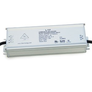 DA96WBR1-3002 96W BR1 Aluminum Case 120V AC Input ELV Triac Dimmable Constant Voltage LED Driver Power Supply
