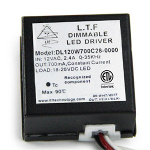 DL120W 12V DL220W 24V Low Voltage Dimmable LED Driver Spec Sheet