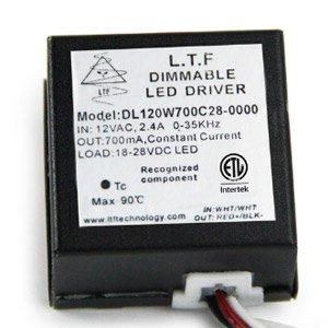 DL120W 12V DL220W 24V Low Voltage Dimmable LED Driver Spec Sheet