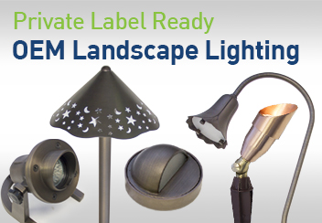 Premium Quality OEM Landscape Lighting Fixtures Brass Copper Aluminum