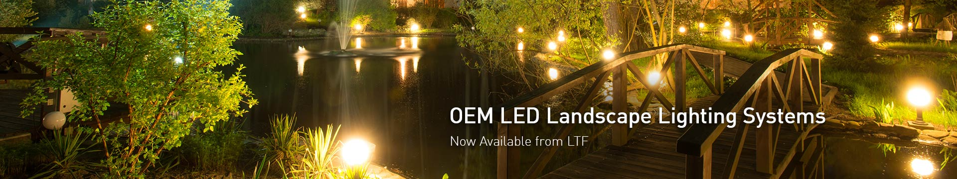 OEM Private Label Ready Landscape Lighting Fixtures from LTF