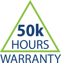 50,000 Hour OEM Limited Warranty Badge