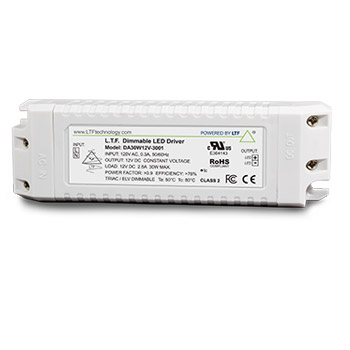 DA30W-3001 30W 120V Input ELV Triac Dimmable LED Driver Power Supply