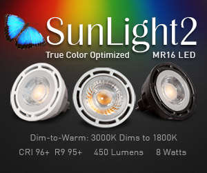 LTF News and Press Releases SunLight2 True Color Optimized MR16 LED Bulb Press Release LEDs Magazine
