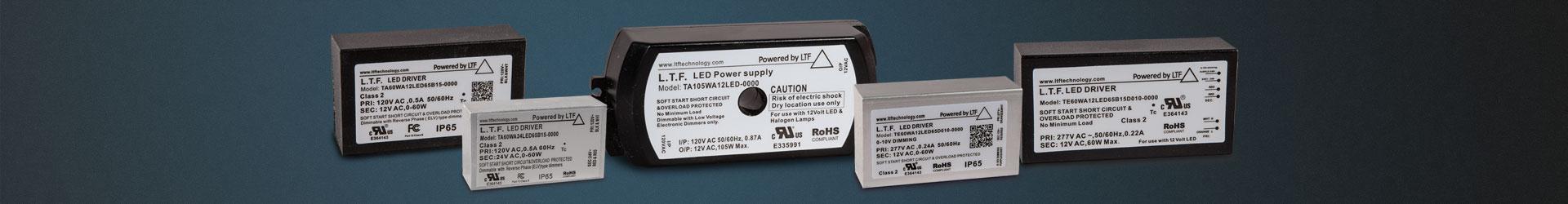 LTF No Load Electronic Transformers 12V 24V LED Power Supply Series