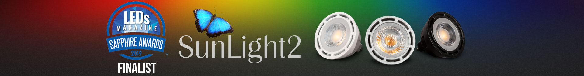 LTFs SunLight2 MR16 LED Bulb is True Color Optimized Dim-to-Warm and Title 24 Compliant
