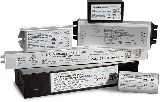 UniDriver Series Universal Input All in One Dimmable Constant Current Constant Voltage LED Drivers