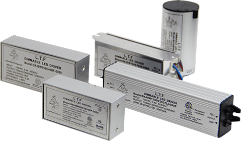 DA DE DU Series Dedicated Input ELV TRIAC 0-10V Dimmable LED Drivers