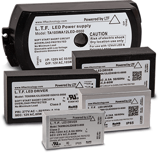 LTF No Minimum Load Electronic Transformers Stack