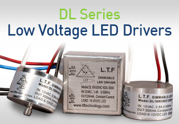 DL Series Low Voltage Dimmable LED Driver Series Smallest Size Form Factor Constant Current
