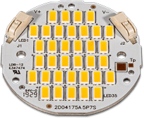QLUXR5010W35LED9 QLUX DC LED Boards 10W 21V