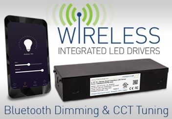 S.I. Series LED Drivers with Bluetooth Wireless Dimming and Control Single Dual Four Channel