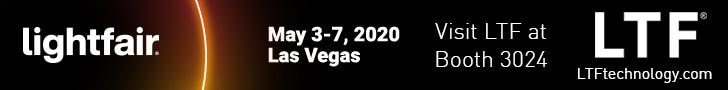 Visit LTF at LightFair 2020 Booth 3024