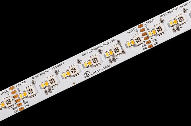 QLUXF50001440LED35WWW RGBWWW flexible LED tape