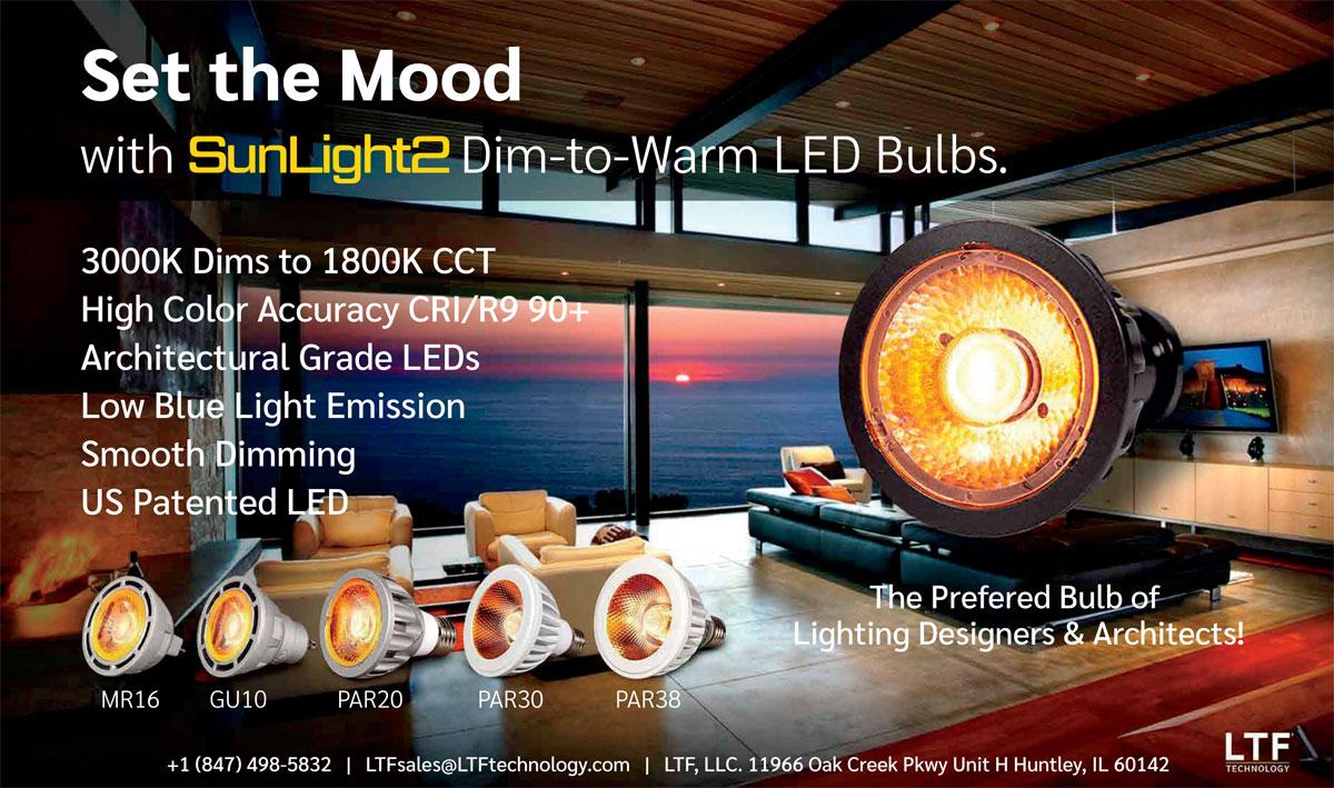 SunLight2 LED bulb ad