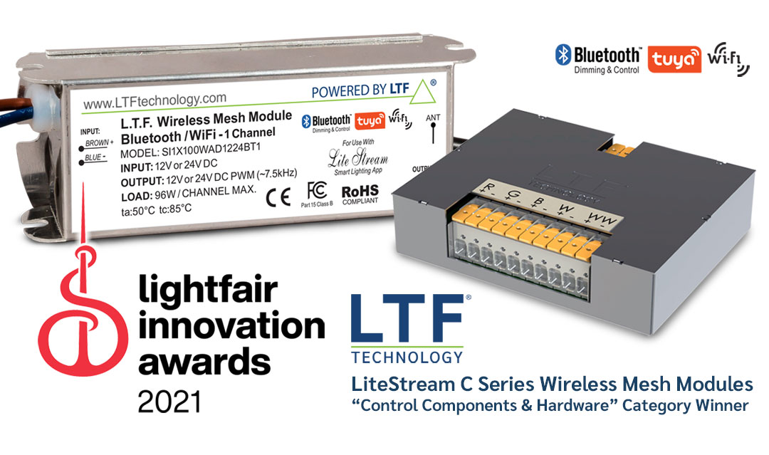 LTF Wins 2021 LIA Award with LiteStream C Wireless Mesh Modules